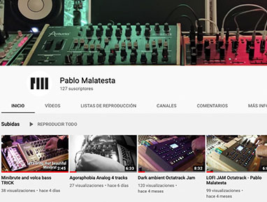 Pablo Malatesta Youtube
